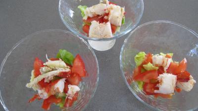 Verrines de homard en salade - 6.3