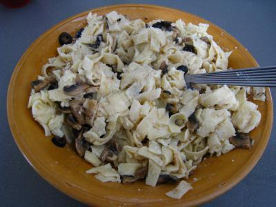 Croquettes de tagliatelles aux champignons - 6.4