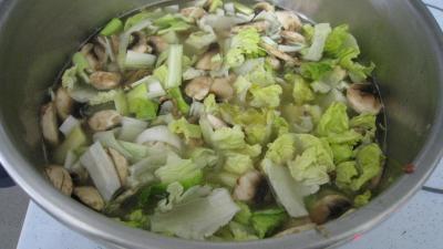 Velouté de légumes - 12.3
