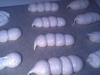 Chenilles de meringue à la noix de coco - 7.2