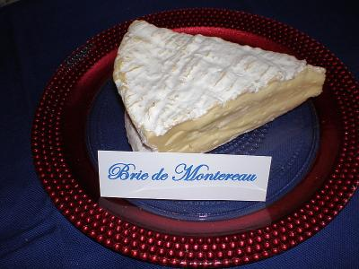 Photo : Brie de montereau coup