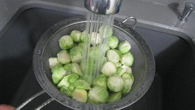 Salade de potiron et choux de Bruxelles - 1.4