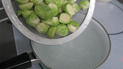 Salade de potiron et choux de Bruxelles - 4.2