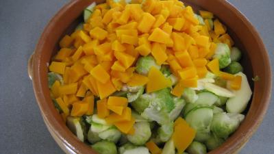 Salade de potiron et choux de Bruxelles - 7.4