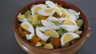 Salade de potiron et choux de Bruxelles - 8.2