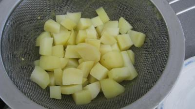 Purée d'aubergines et confit d'oignons et de tomates - 6.4