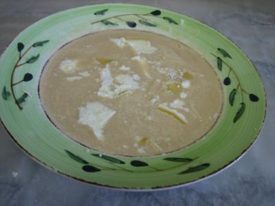 Crème d'artichauts au chèvre - 12.1