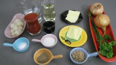 Ingrédients pour la recette : Sauce Lyonnaise