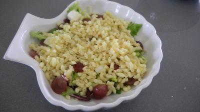 Salade de coquillettes aux noix - 8.2