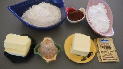 Ingrédients pour la recette : Biscuits sablés de l'avent