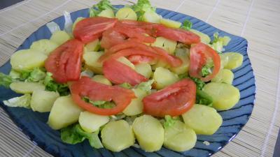 Salade de pommes de terre et merlan - 8.1