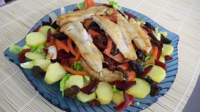 Salade de pommes de terre et merlan - 8.3