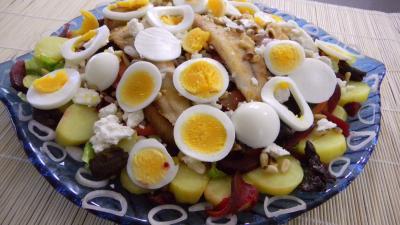 Salade de pommes de terre et merlan - 9.1