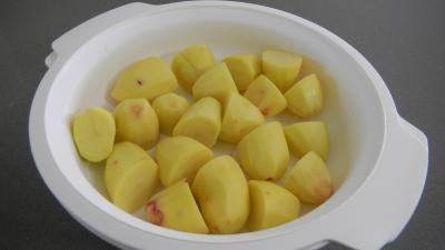 pommes de terre vapeur au micro ondes supertoinette la cuisine facile. Black Bedroom Furniture Sets. Home Design Ideas
