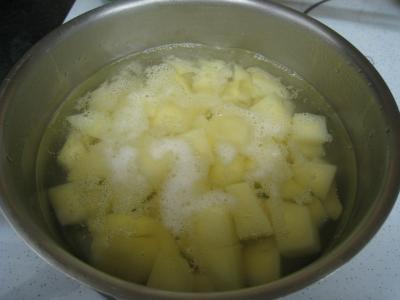 Crumble de camembert et sa salade - 6.2