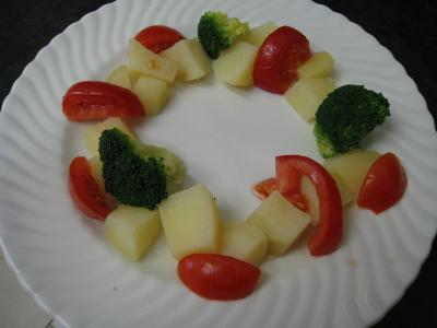 Crumble de camembert et sa salade - 10.3