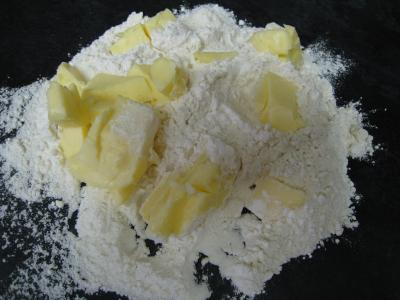 Crumble de camembert et sa salade - 11.1