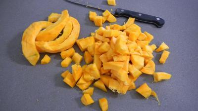Potimarron et pommes de terre aux oignons confits - 1.4