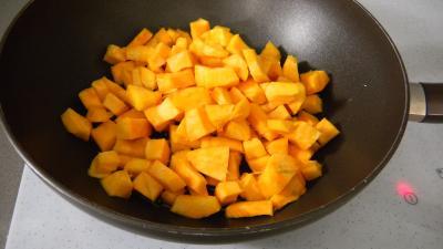 Potimarron et pommes de terre aux oignons confits - 3.4