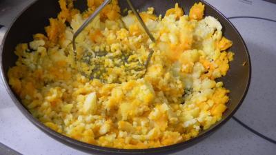 Potimarron et pommes de terre aux oignons confits - 5.2