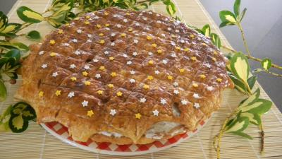 Recette Galette des rois  la chantilly