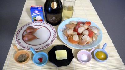 Ingrédients pour la recette : Saint-Jacques parfumées au safran