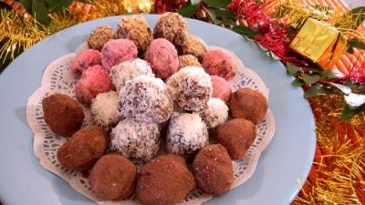 Photo : Truffes parfumées