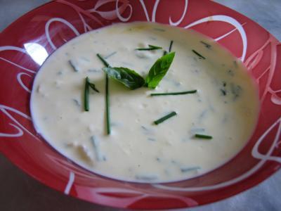Recette Sauce au fromage blanc aux fines herbes