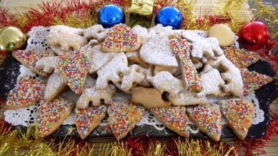 Image : Plateau de biscuits des rois