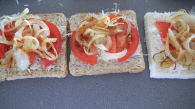 Croque-monsieur à la tomate - 4.4