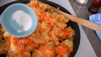 Poulet sauce soja et sa purée de carottes - 7.1
