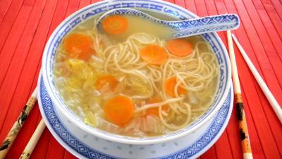 Recette Soupe de chou chinois