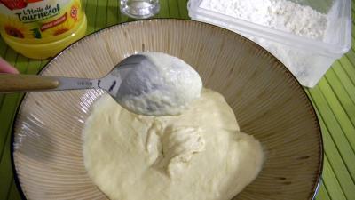 beignets salés : Pâte à beignets chinoise revisitée