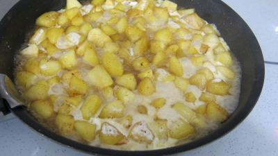 Pommes caramélisées au yaourt - 3.2