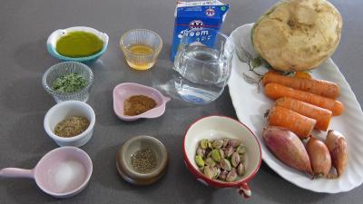 Ingrédients pour la recette : Rutabagas aux carottes