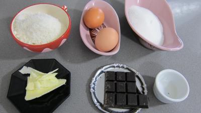 Ingrédients pour la recette : Rochers à la noix de coco