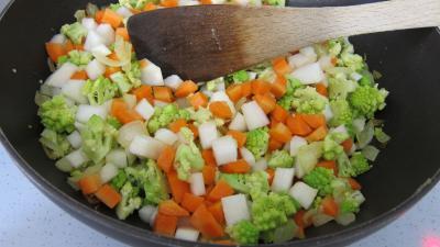 Lasagnes aux carottes et au chou romanesco - 5.3