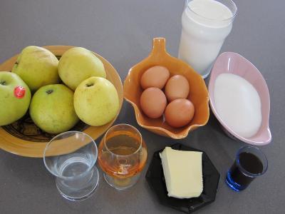 Ingrédients pour la recette : Millasson aux pommes à l'Armagnac revisité