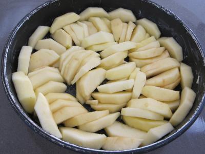 Millasson aux pommes à l'Armagnac revisité - 1.4
