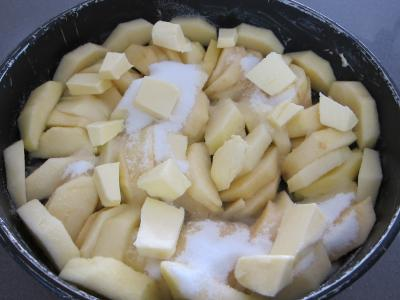 Millasson aux pommes à l'Armagnac revisité - 2.2