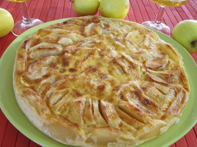 clafoutis sucrés : Millasson aux pommes