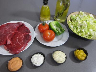 Ingrédients pour la recette : Fondue Bourguignonne
