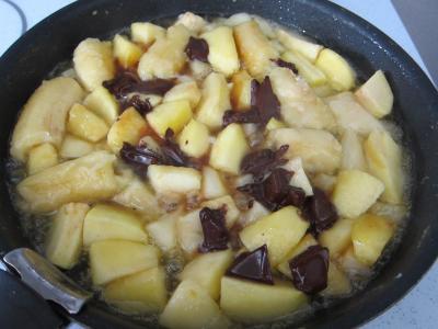 Brouillade de fruits au pralin et chocolat - 4.3