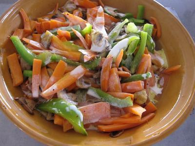 Tajine de truite aux carottes et curcuma - 7.1
