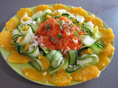 Orange en salade à l'eau de fleur d'oranger - 3.3
