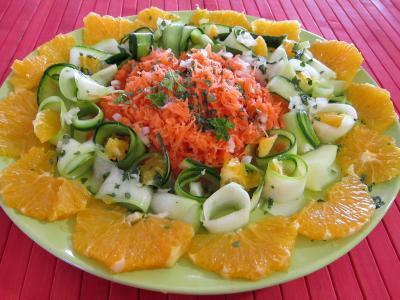 Recette Orange en salade à l'eau de fleur d'oranger