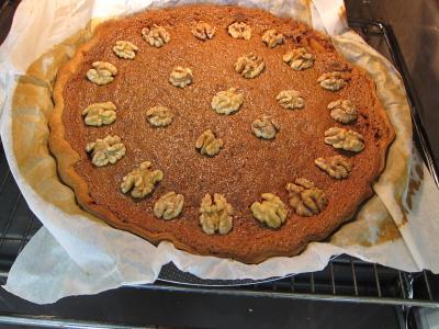 Tarte aux noix à la vanille - 10.4