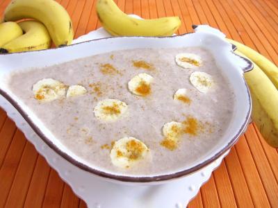 coulis sucré aux fruits : Ramequin de coulis de bananes à la cannelle