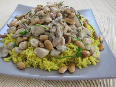 Recette Assiette de risotto à la saumonette et encornet