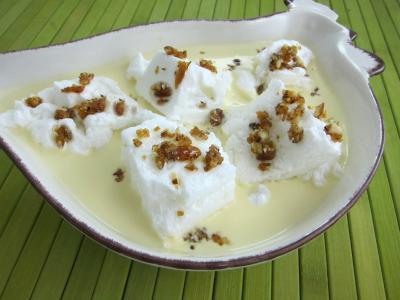 Recette Île flottante à la vanille